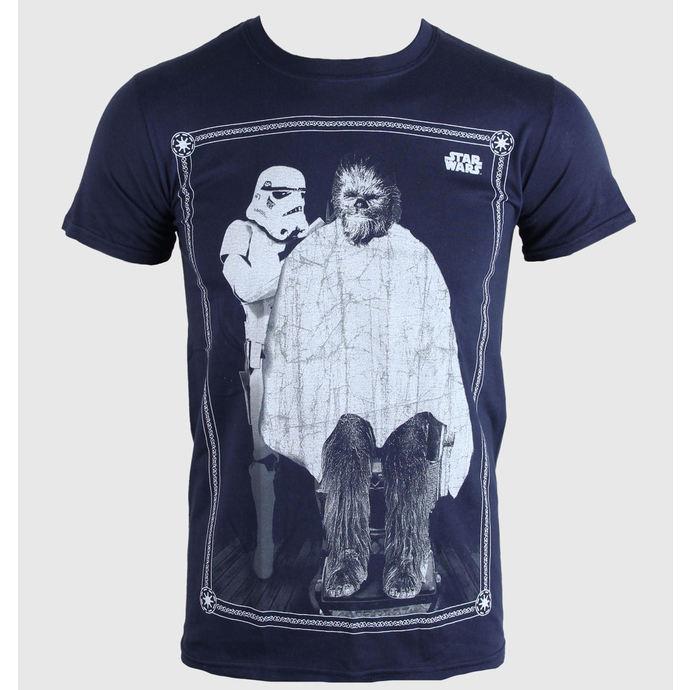 tričko pánské Star Wars - Chewie Haircut - PLASTIC HEAD