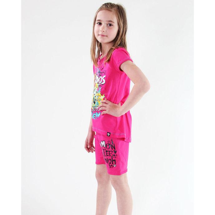 tričko dívčí TV MANIA - Monster High - Pink