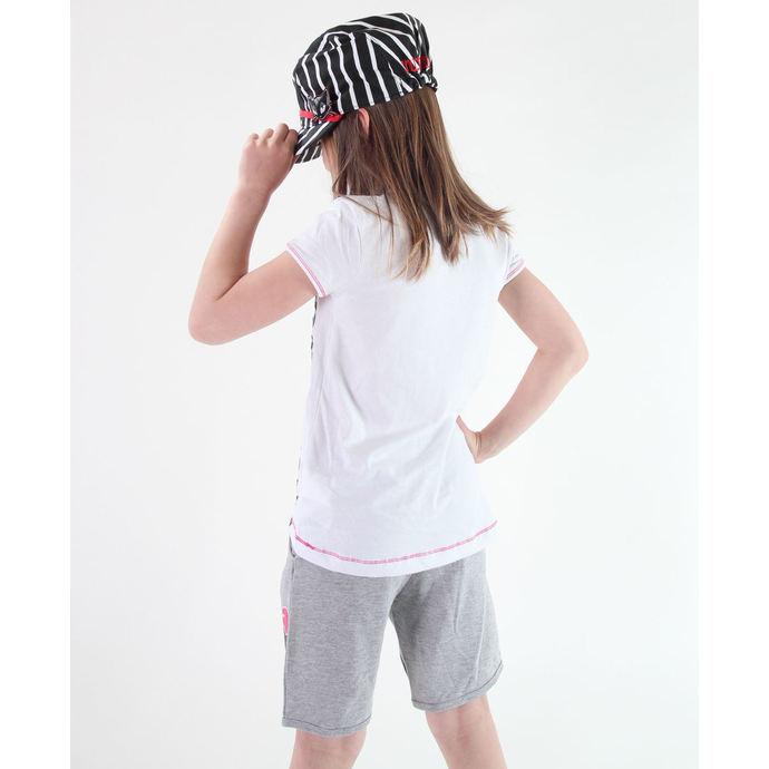 tričko dívčí TV MANIA - Monster High - White