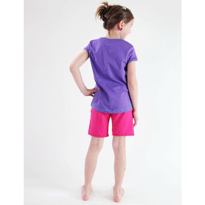 tričko dívčí TV MANIA - Monster High - Purple
