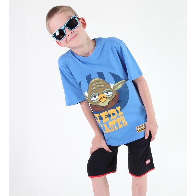 tričko chlapecké TV MANIA - Angry Birds / Star Wars - Blue