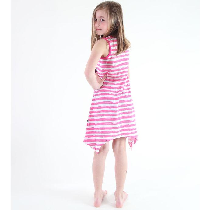 šaty dívčí TV MANIA - Monster High - White/Pink