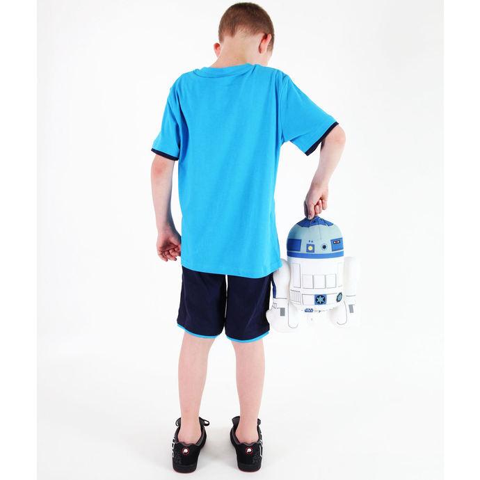 set chlapecký  ( tričko,kraťasy) TV MANIA - Angry Birds / Star Wars - Blue