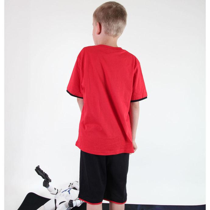 set chlapecký  ( tričko,kraťasy) TV MANIA - Star Wars Clone - Red