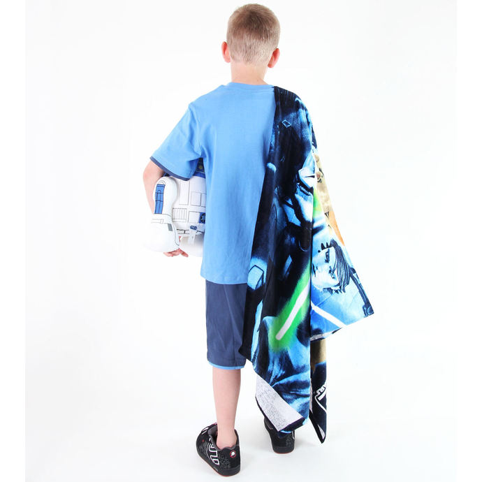 set chlapecký  ( tričko,kraťasy) TV MANIA - Star Wars Clone - Blue