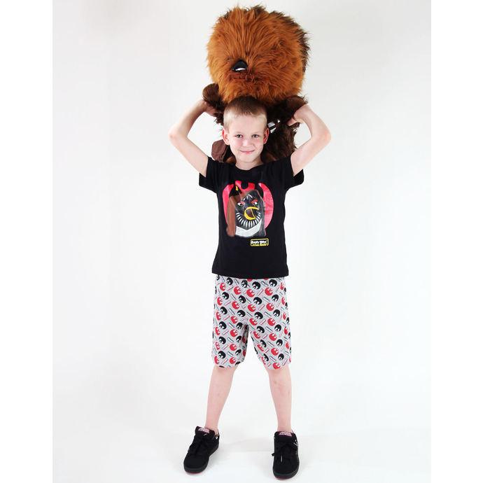 pyžamo chlapecké TV MANIA - Angry Birds / Star Wars - Black