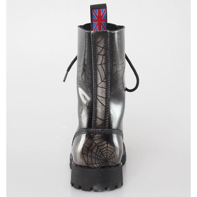 boty NEVERMIND - 10 dírkové - Grey Spider