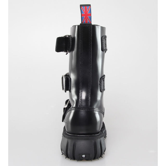 boty NEVERMIND - 12 dírkové - Polido Black