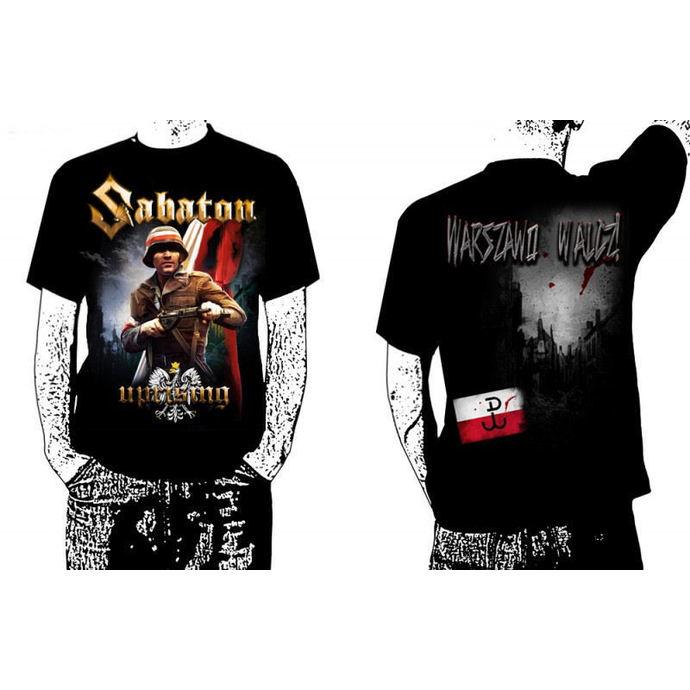 tričko pánské Sabaton - Uprising - Black - CARTON