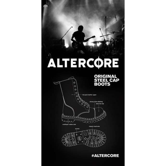 boty ALTERCORE - 10dírkové - Black