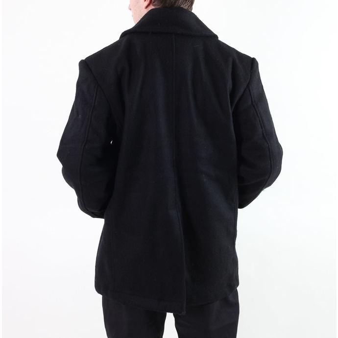 kabát pánský ROTHCO - PEA COAT - BLACK