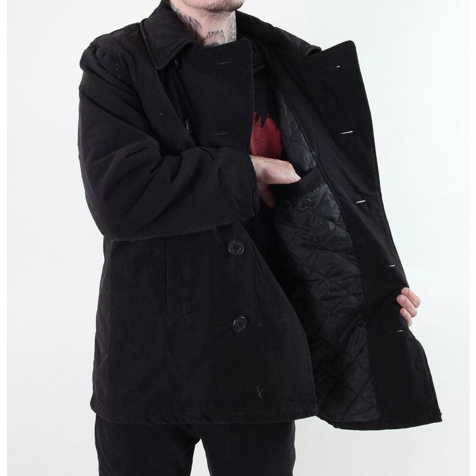 kabát zimní ROTHCO - PEA COAT- BLACK