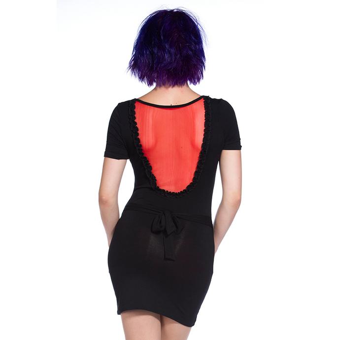 šaty dámské (tunika) BANNED - Red Mirror Skull