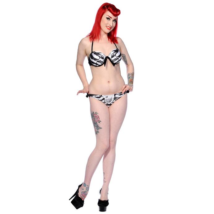 plavky dámské BANNED - Ribcage - Black