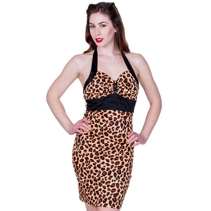 šaty dámské BANNED - Retro Leopard