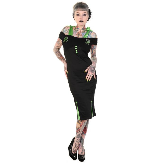 šaty dámské BANNED - Black Frankenstein and Bride Pencil