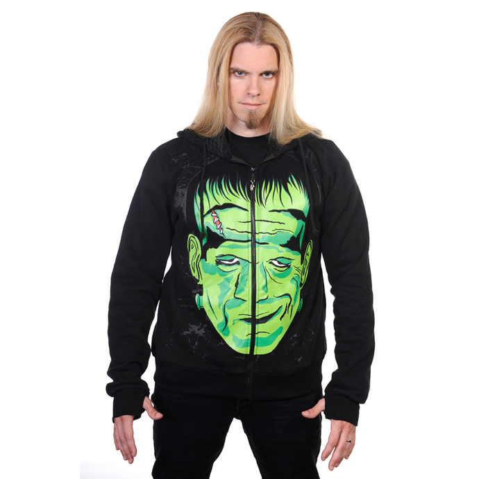 mikina pánská BANNED - Frankenstein - Black
