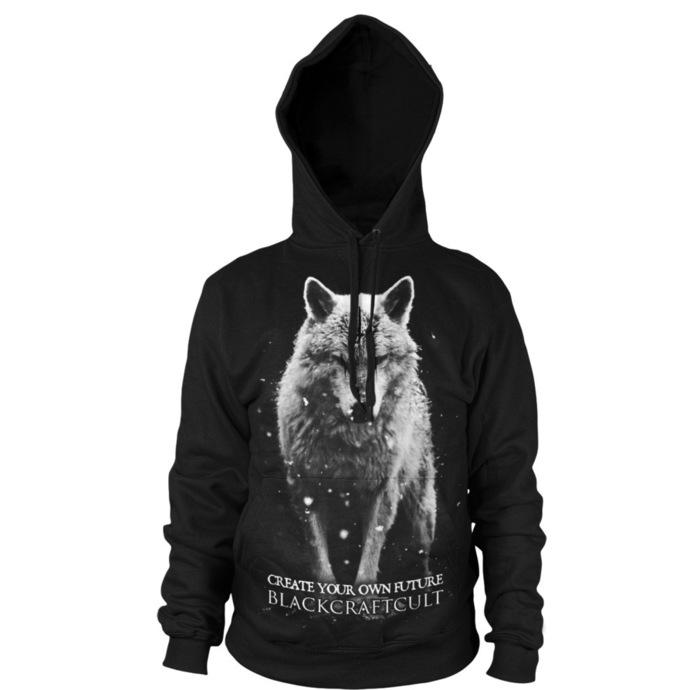 mikina pánská BLACK CRAFT - Lone Wolf - Black