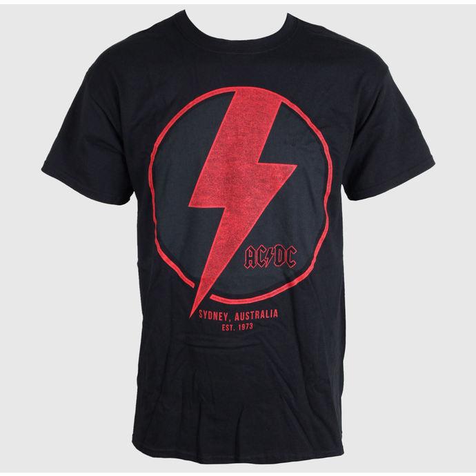 tričko pánské AC/DC - SYDNEY - BLACK - LIVE NATION