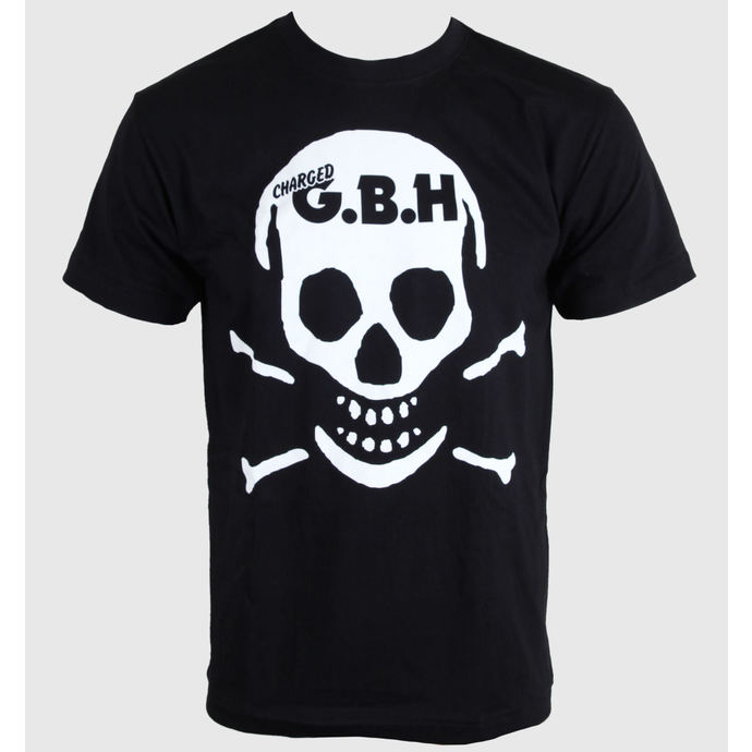 tričko pánské G.B.H. - Skull - CARTON