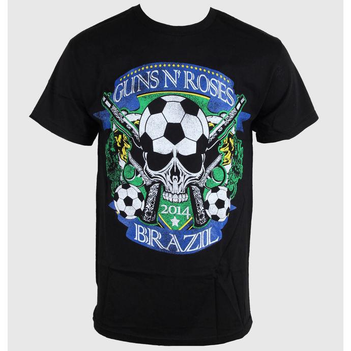 tričko pánské Guns N' Roses - Brazil Cup - Black - BRAVADO