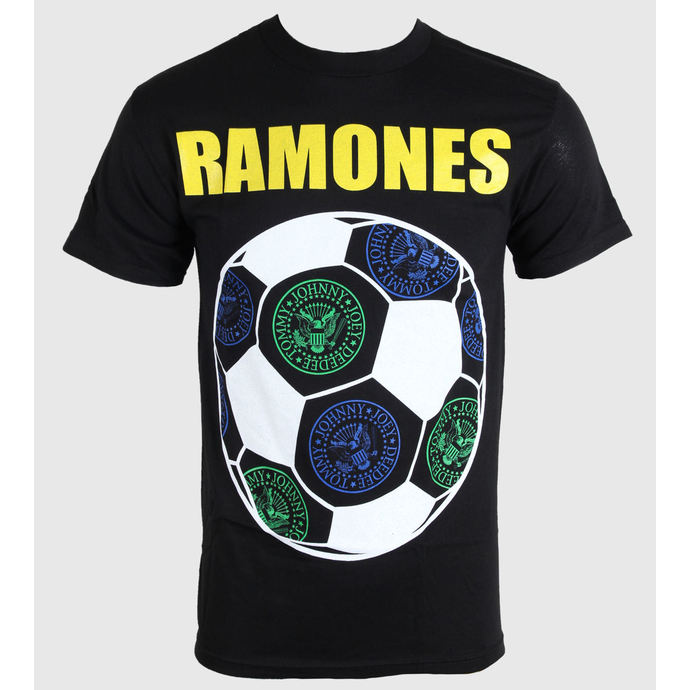tričko pánské Ramones - Brazil Seals - Blk - BRAVADO
