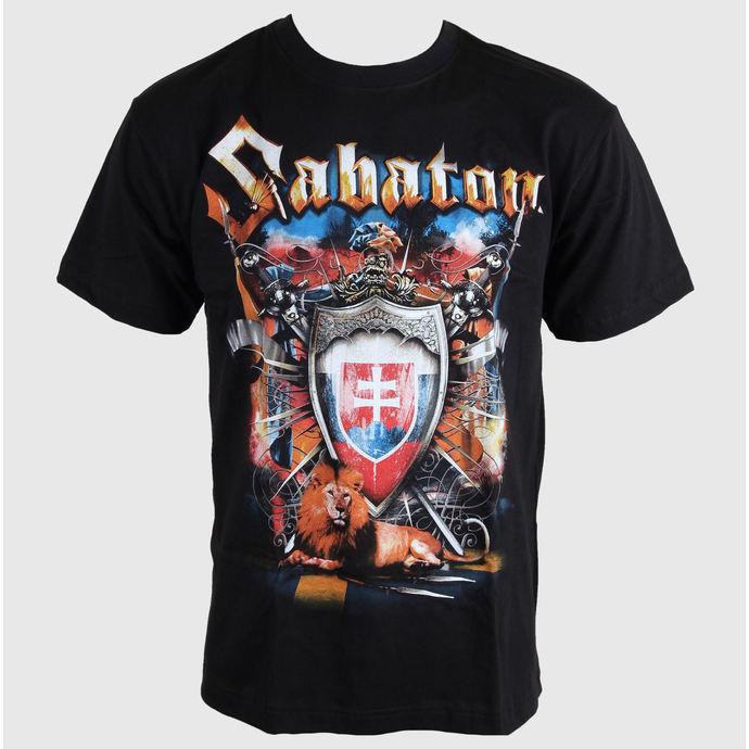 tričko pánské SABATON - SWEDISH EMPIRE - SLOVAKIA - CARTON