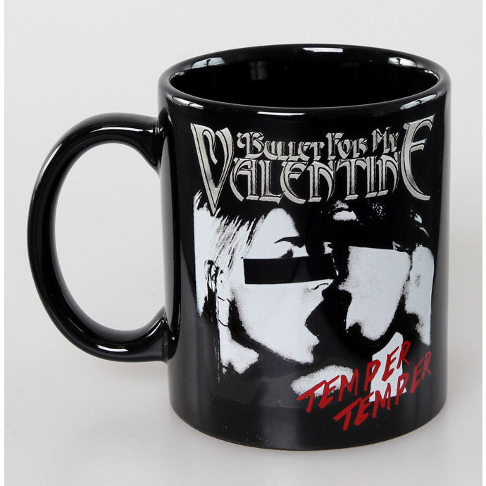 hrnek Bullet For my Valentine -  Skull Red Eyes Black - ROCK OFF
