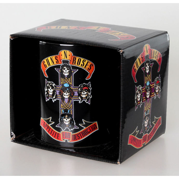 hrnek Guns N' Roses - Appetite for Destruction - Blk - ROCK OFF