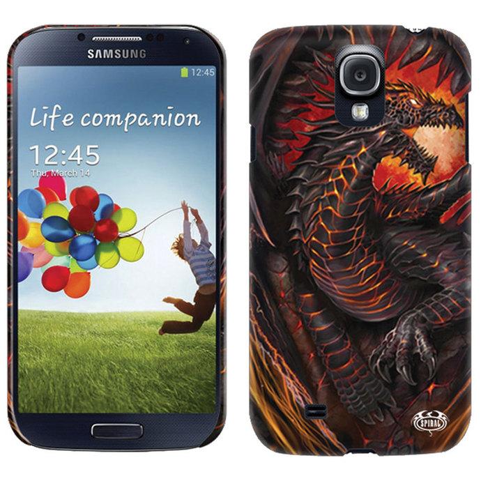 kryt na mobil SPIRAL - DRAGON FURNACE - Samsung