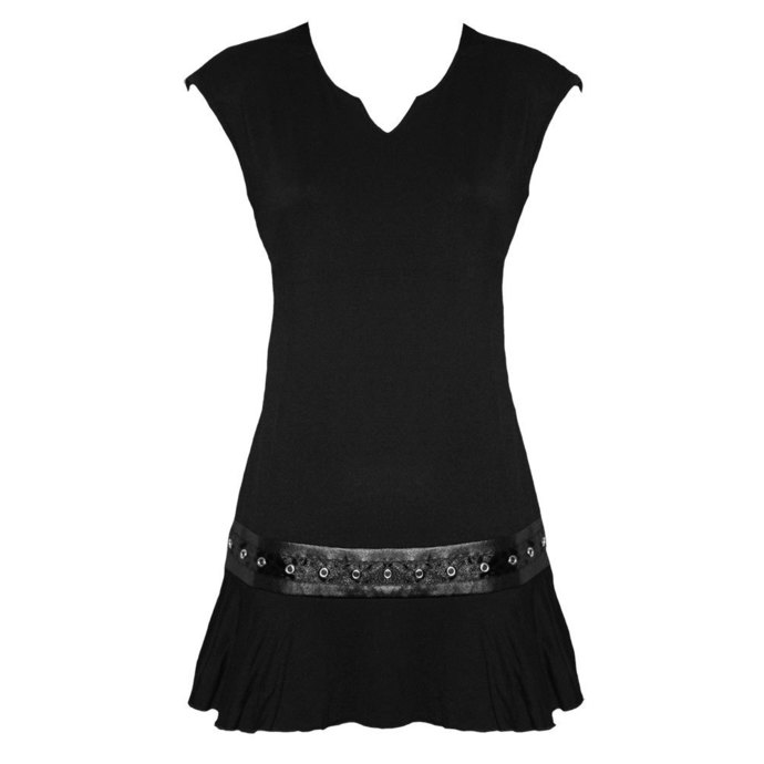 šaty dámské SPIRAL - Gothic Rock - BLK