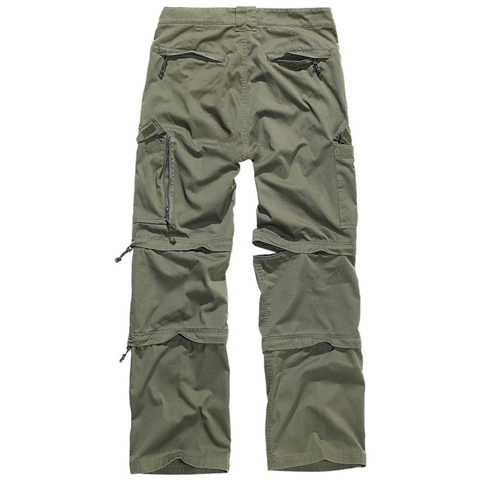 kalhoty pánské BRANDIT - Savannah Trouser - Oliv