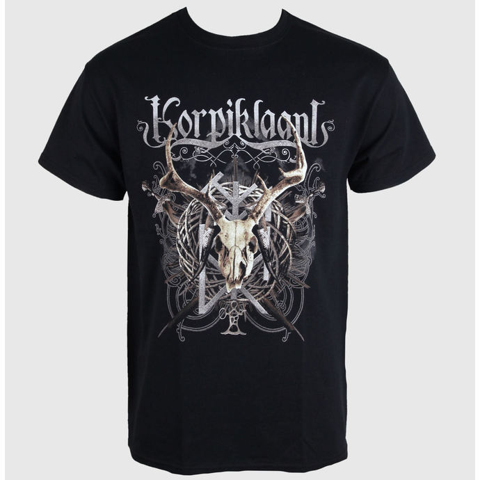tričko pánské Korpiklaani - Crest - RAZAMATAZ