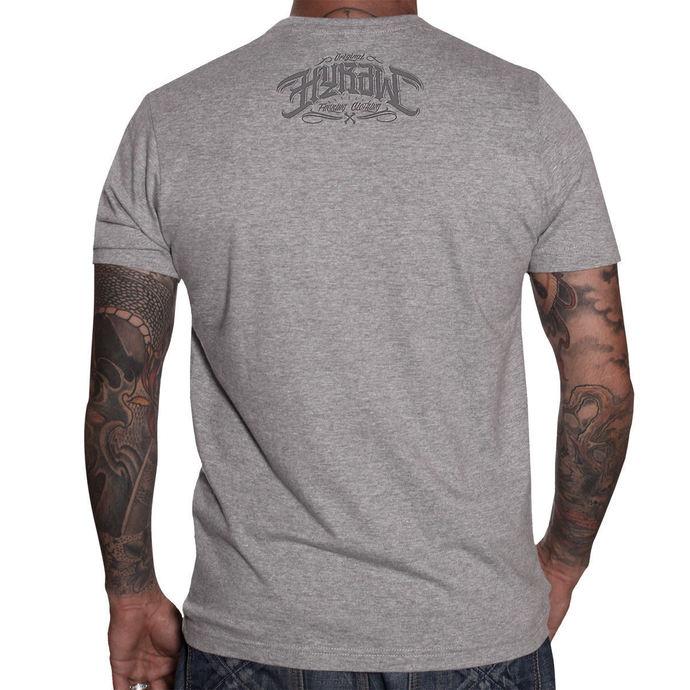tričko pánské HYRAW - Demon - Grey