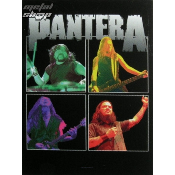 vlajka Pantera - band Frames