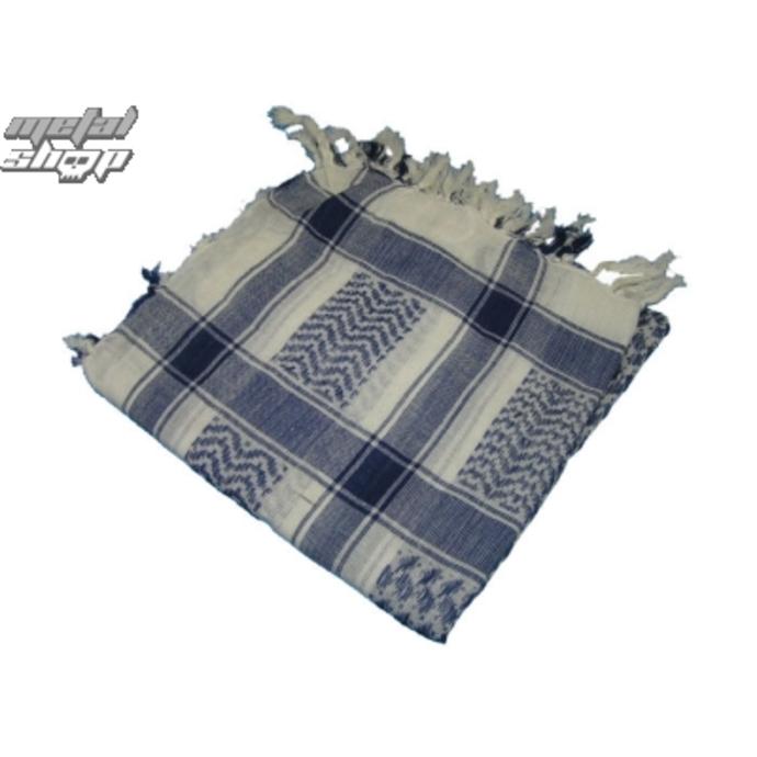 šátek ARAFAT - palestina - modrobílá 1