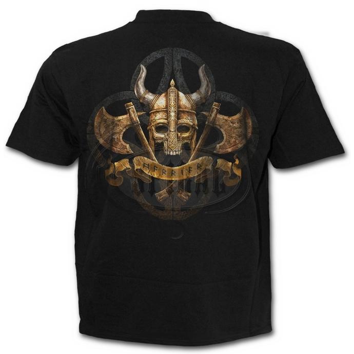 tričko pánské SPIRAL - CELTIC PIRATES - Black