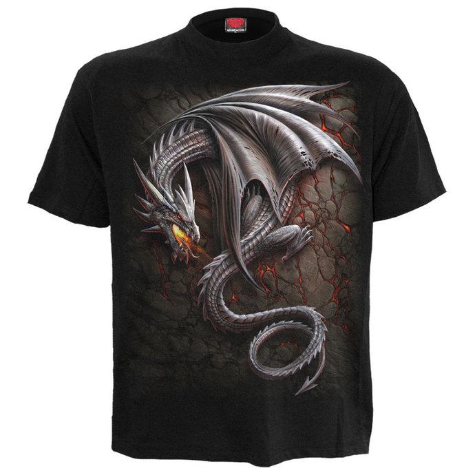 tričko pánské SPIRAL - OBSIDIAN - BLK