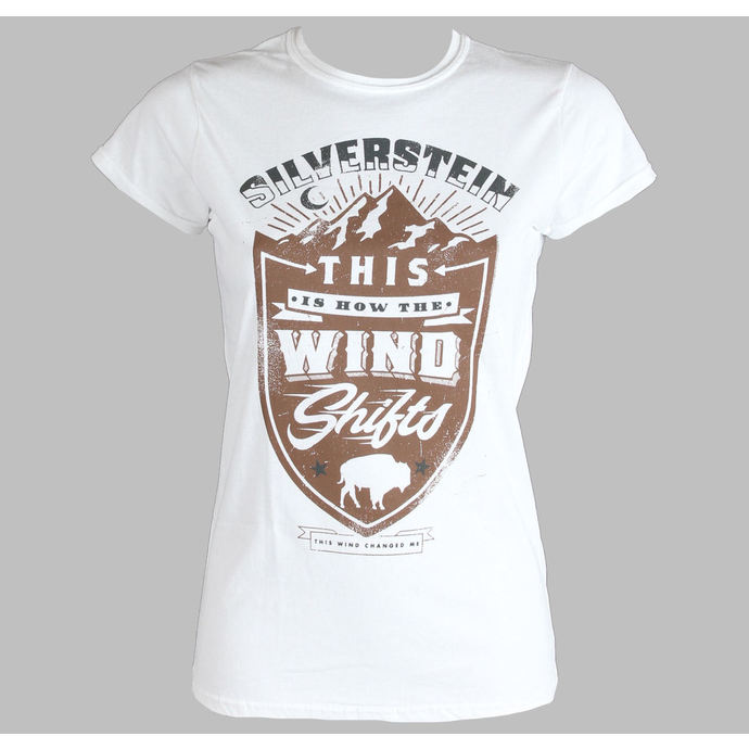 tričko dámské Silverstein - Crestl - PLASTIC HEAD