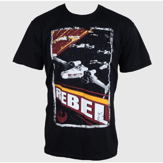 tričko pánské Star Wars - Rebel - PLASTIC HEAD