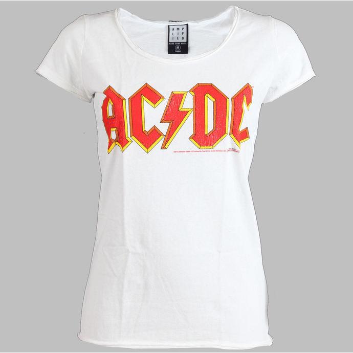 tričko dámské AC/DC - Logo - AMPLIFIED - White