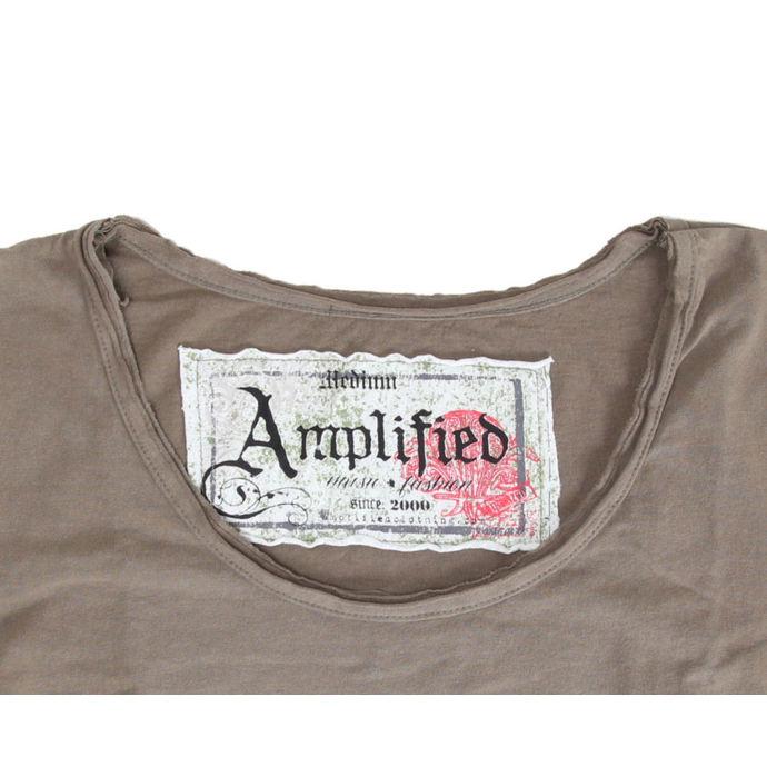 tričko dámské Mötley Crüe - Tour 87 - AMPLIFIED - Khakil
