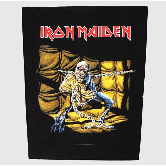 nášivka velká Iron Maiden - Piece Of Mind - RAZAMATAZ