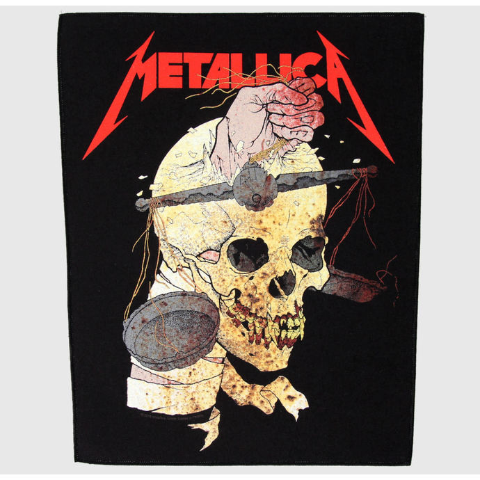 nášivka velká Metallica - Harvester Of Sorrow - RAZAMATAZ