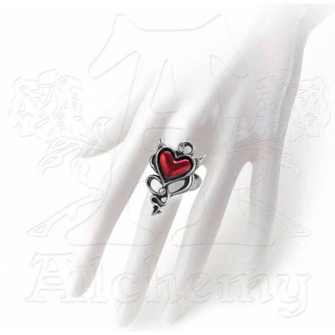 prsten ALCHEMY GOTHIC - Devil Heart