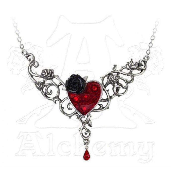 obojek ALCHEMY GOTHIC - The Blood Rose Heart