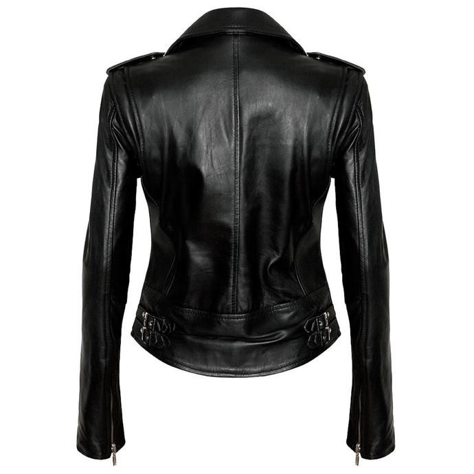 bunda dámská (křivák) KILLSTAR - Vegan Biker - Black