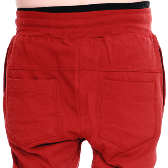 kalhoty unisex (tepláky) 3RDAND56th - Carrot Fit Jogger - Claret