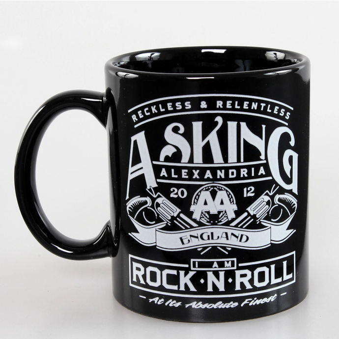 hrnek Asking Alexandria - Rock N Roll - ROCK OFF