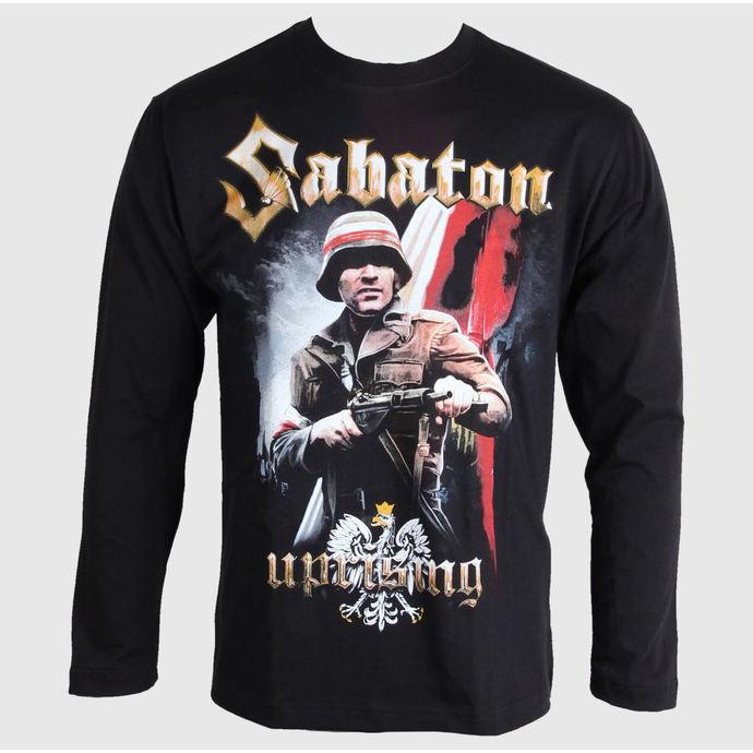 tričko pánské s dlouhým rukávem Sabaton - Uprising - Black - CARTON
